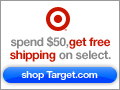 Spend $50 get free shipping on select at Target.com
