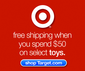 Spend $50 get free shipping on select toys at Target.com